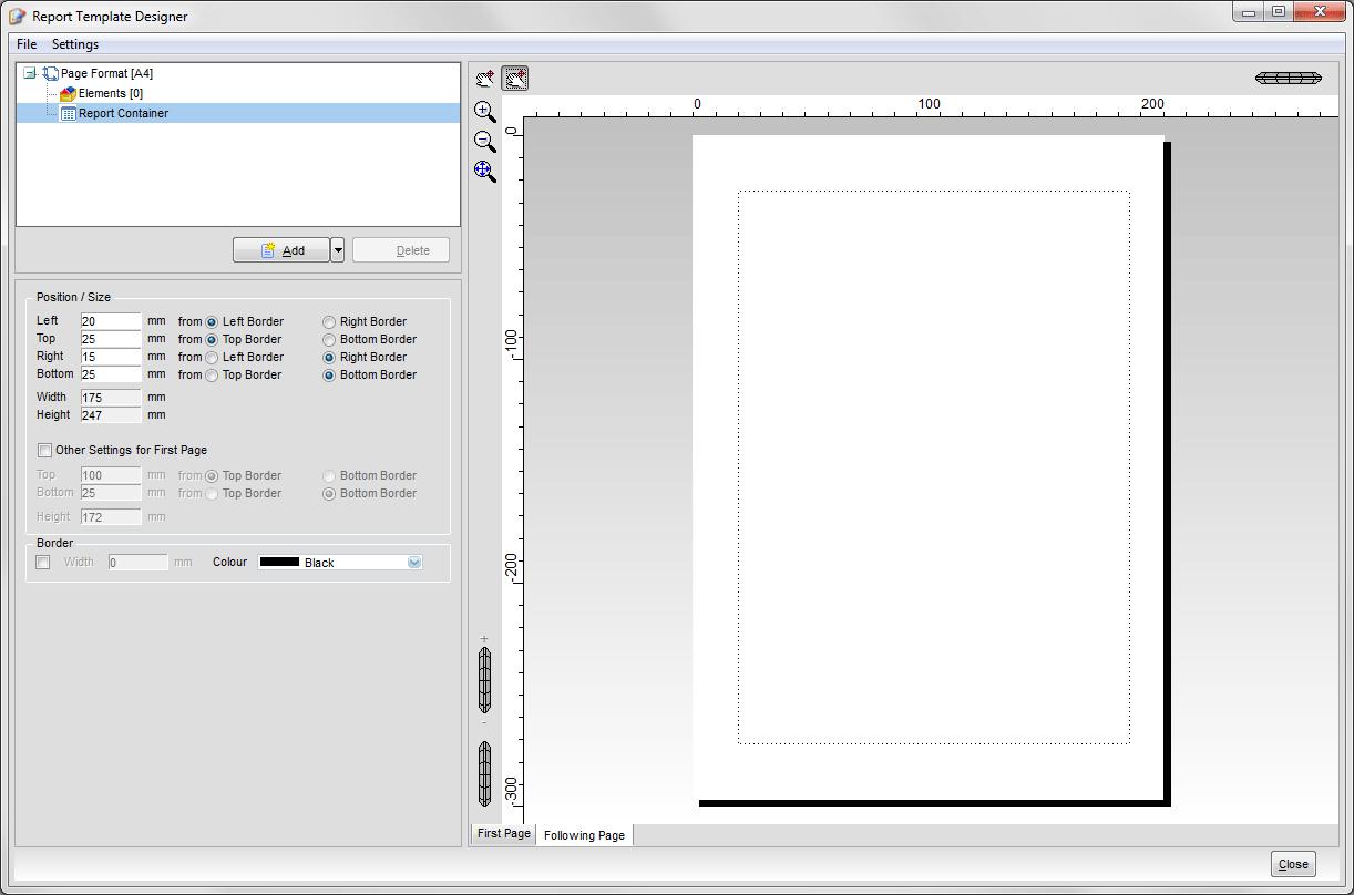 ENReports006  Manual Templates