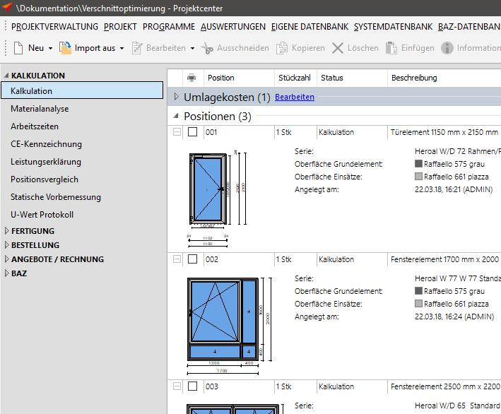 Verschnittoptimierung – Orgadata Helpdesk DE