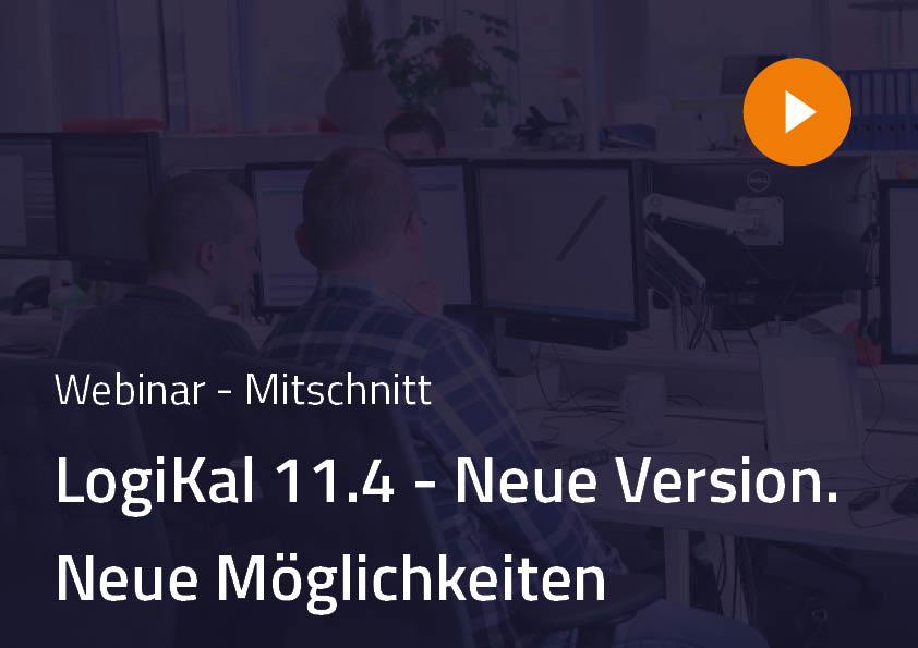 LogiKal 11.4 Webinar